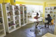 Las bibliotecas infantiles que funcionan dentro de los clubes y parques de Lima tienen ambientes diseñados especialmente para la comodidad de los pequeños usuarios.