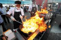 Los concursos y los eventos de gastronomía atrajeron a gran cantidad de público al Centro de Lima.