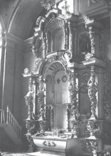 Retablo del Monasterio Real de Santa Teresa, destruido en 1946.