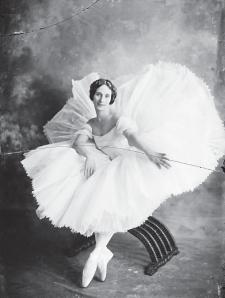 Anna Pávlova, bailarina rusa en su visita a Lima, en 1917. Crédito: R. Dubreuil. Archivo Courret de la BNP.