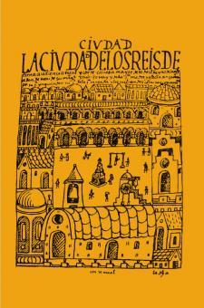 Dibujo de la Ciudad de los Reyes hecho por Guamán Poma de Ayala, ca. 1615. Crédito: El primer nueva corónica i buen gobierno.